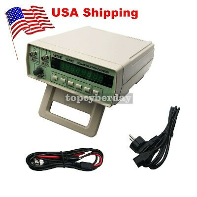 VC3165 Radio Frequency Counter RF Meter 0.01Hz-2.4GHz Professional Cymometer US