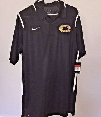 c116b44d6 NIKE GAME DAY Polo Mens Dri-Fit Collared Golf Football 658085 Short ...