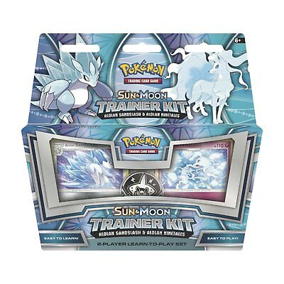 Pokemon Tcg: Sun and Moon Trainer Kit, Alolan Sandslash and Alolan Ninetales