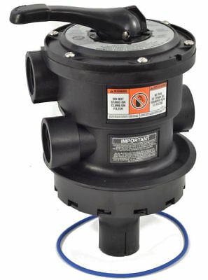 Hayward SP0714T Pro Series Vari-Flo Top-Mount Sand Filter Control Valve, Black
