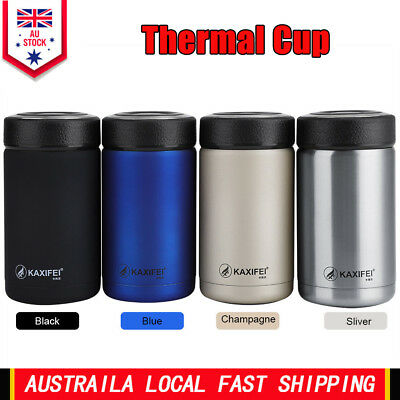 Vacuum Insulated Thermos Travel Water Tea Storage Mug Bottle Flask Coffee Cup AU