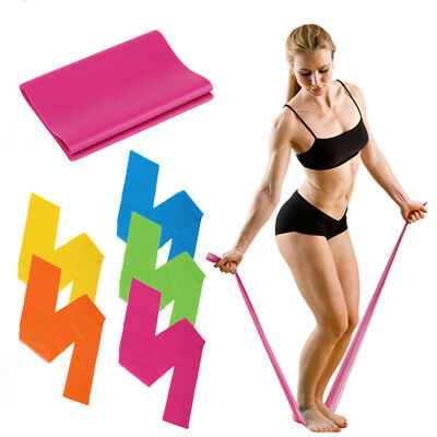 Sports Yoga1.2M Fitness Equipment Elastic Yoga Exercise Resistance Bands Workout