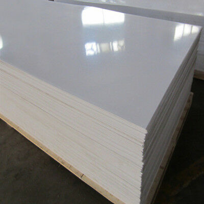WHITE PVC WALL Boards Hygienic Wall Cladding Sheet 8ftx4ft*2/2 5/3mm