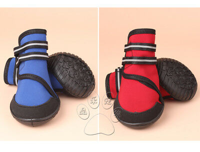 Waterproof Boots Dog Shoes Protection Protective Booties Paws Injury XXS-XXL