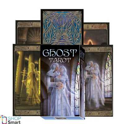 Ghost Tarot Deck Cards  Esoteric Fortune Telling Lo Scarabeo New