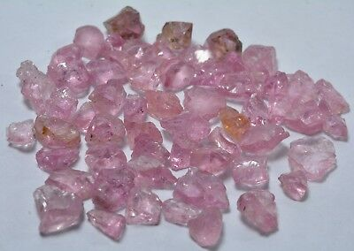 Wow 59 Carat Fluorescent Natural Pink Color Spinel Rough Lot From Tajikistan