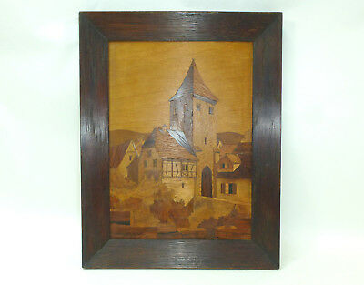 Inlaid Picture France Saverne Lucien Straub Marqueterie