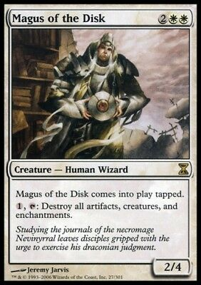 MTG 1x MAGUS OF THE DISK - Time Spiral *DEUTSCH NM*