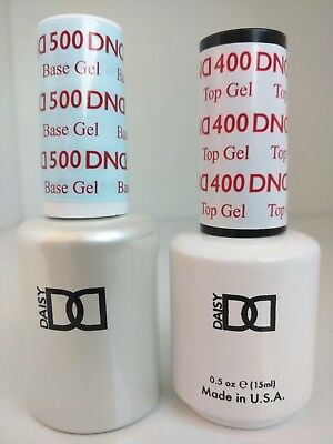 DND Daisy Soak Off Gel Polish Top Coat & Base Coat Duo 0.5 oz ON Sale!