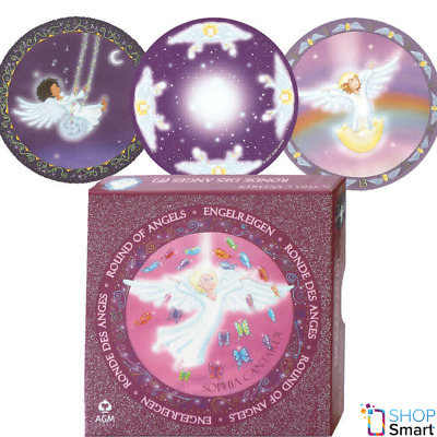 Round Of Angels - Ronde Des Anges Oracle Deck Cards Esoteric Fortune Telling Agm