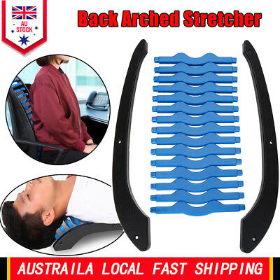 Back Stretcher Arched Extender Posture Orthopedic Massager Chiro Lumbar Support