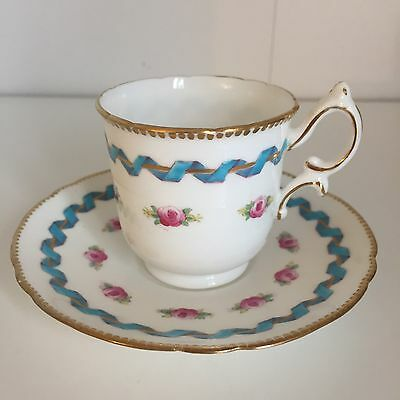 Wileman foley Pre Shelley Coffee Cup And Saucer