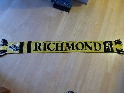 Official Richmond Tigers 2018 Members Afl Football Scarf - New In Packet