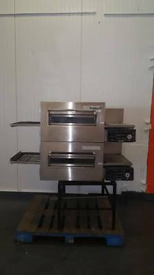 Lincoln Impinger Double Stack Conveyor Pizza Ovens Electric