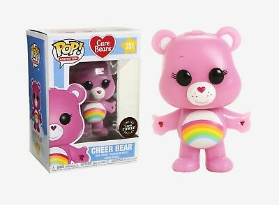 Funko Pop Animation: Care Bears - Cheer Bear #26698 CHASE LIMITED EDITION