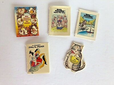 Set of 5 KITTY CUCUMBER Story Books