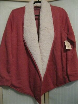 St. John's Bay Women's Drape Front Jacket, New With Tags!!!