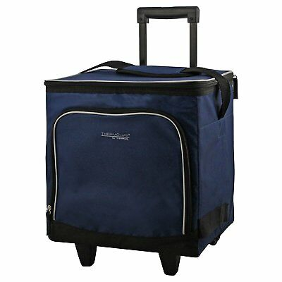 Thermos Thermocafe Wheeled Family Cool Bag, Navy, 28L