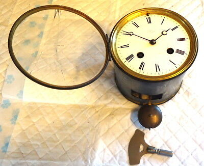 Antique FRENCH Reg 24906 Mantel Clock Movement by ROBLIN & FILSFERES of PARIS