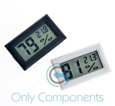 Digital Thermometer Electronic Humidity Hygrometer Temperature Meter Sensor
