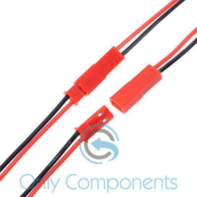 150mm JST Connector Plug Cable Male + Female for RC Battery Radio Control Lipo