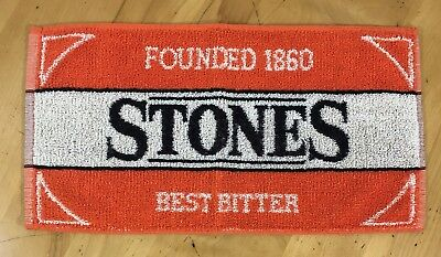 Stones Best Bitter Founded 1860 Beer Towel Pub Towel - Preowned - EXC Condition