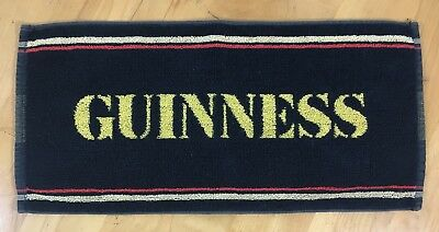 Guinness Beer Towel - Pub Towel - Preowned - Excellent Condition