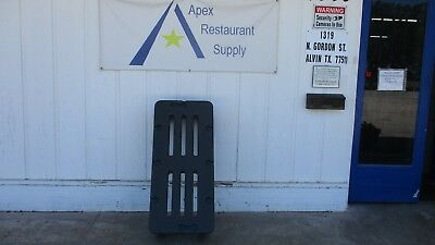 """Plastic Dunnage Rack 48"""" x 22"""" Commercial Restaurant Storage #3209"""