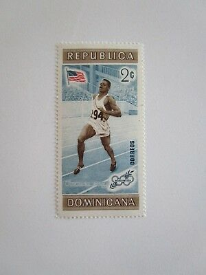 Dominican Rep Dominicana 2c Milton Gray Campbell 1956 Summer Olympics Melbourne
