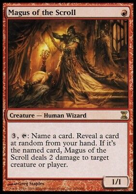 MTG 1x MAGUS OF THE SCROLL - Time Spiral *Rare FOIL NM*