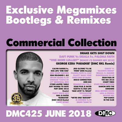 Dmc Commercial Collection Issue 425 June 2018 Dj Remix Service 3Cd