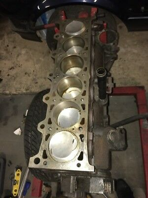 BMW E30 325I M20 engine block 325i And Rotating Assembly Pistons Crank