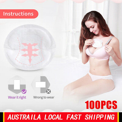 100Pcs Baby Maternity Breast Pads Disposable Anti-overflow Breastfeeding Pads