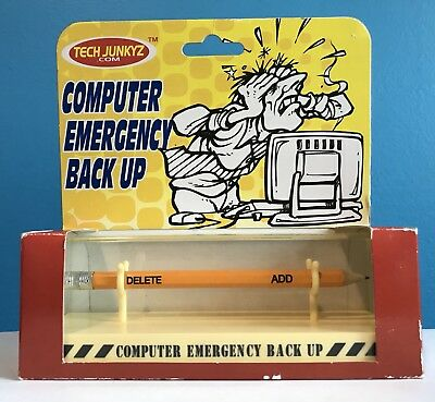 Computer Backup Tech Geek Gag Gift Office Nerd Desktop PC Geek Programming Funny