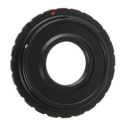 C Mount Lens to Canon EOS EF EFS DSLR Camera Adapter For 5D 6D 7D II III 70D 80D