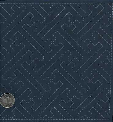 SASHIKO  Embroidery Sampler #3. 100% cotton