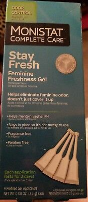 Monistat Complete Care Stay Fresh Gel Odor Control