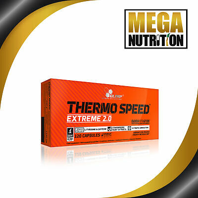 Olimp Nutrition Thermo Speed Extreme 2.0 - 120 Mega Caps | Guarana Supplement
