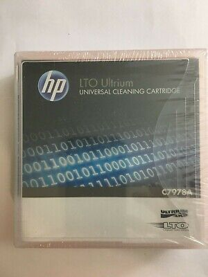HP LTO Universal Cleaning Cartridge 20 Uses C7978A