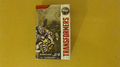 Hasbro Transformers The Last Knight Premier Edition Barricade Sealed! Read