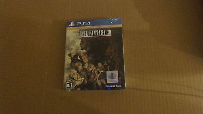 Final Fantasy XII The Zodiac Age Limited SteelBook Edition Factory Sealed!