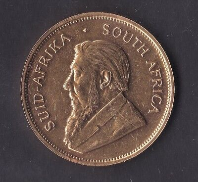 CB552) South Africa 1981 Krugerrand. 1 ounce of fine gold, uncirculated