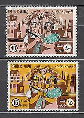 Iraq - Mail Yvert 630/1 Mnh Feast of the work