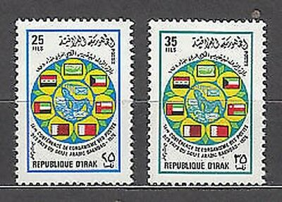 Iraq - Mail Yvert 853/4 Mnh Flags