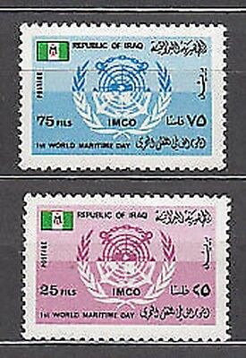 Iraq - Mail Yvert 865/6 Mnh Day of the sea