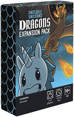 Unstable Unicorns Dragon Expansion  - BRAND NEW