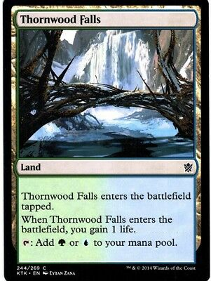4x Thornwood Falls ● Fate Reforged ● M//NM ● Magic MTG FRF
