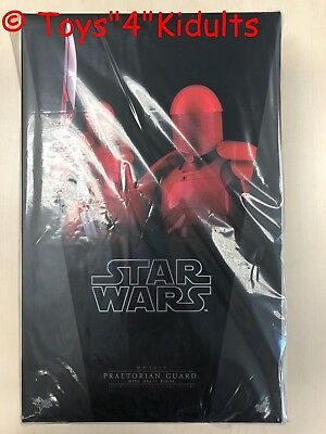 Hot Toys MMS 453 Star Wars The Last Jedi Praetorian Guard (With Heavy Blade) NEW