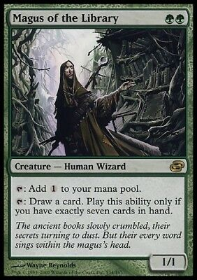 MTG 1x MAGUS OF THE LIBRARY - Planar Chaos *Rare FOIL NM*