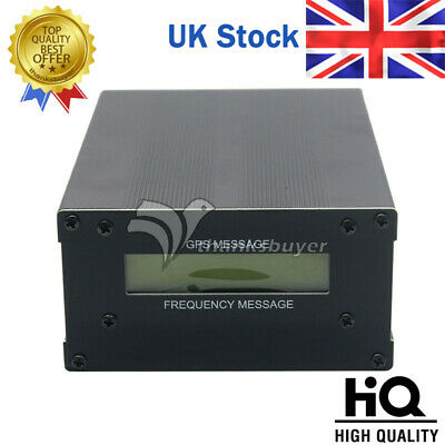 GPS Colck GPSDO 10M with LCD Display Frequency Message Disciplined Oscillator UK
